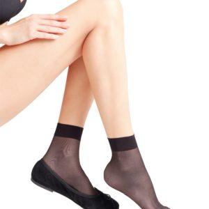 Seidenglatt 15 den ankle sock