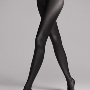 Satin de luxe tights black
