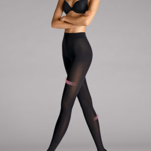 Velvet 66 leg support tights black