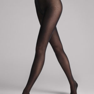 Satin opaque 50 den tights black