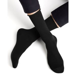 Velvet Cotton Egyptian socks black