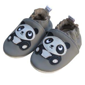 Panda stitjandi gúmmí sóli gráir