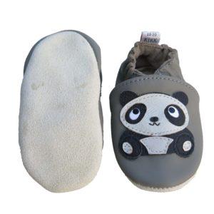 Panda stitjandi mjúkur sóli gráir