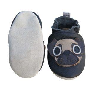 Pug mjúkur sóli svartir