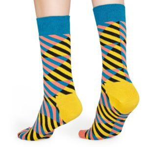 Diagonal Stripe SO Blue/yellow