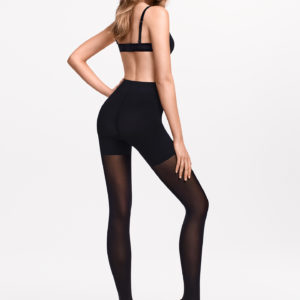 Tummy 66 control top tights black
