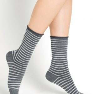Fine wool stripes SO grey 3
