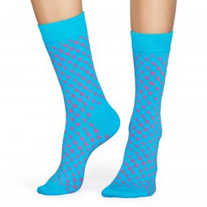 Happy Sock SO blue/pink