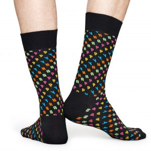 Happy Sock SO black/multi