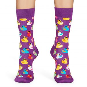 Rubber duck SO violet/multi