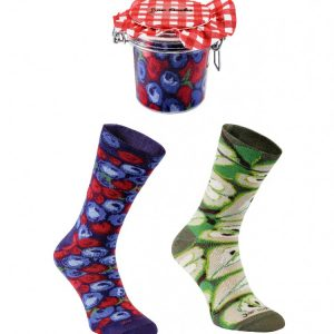 Jar socks bláber/pera 2/pk
