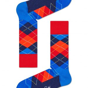 Argyle SO red/blue