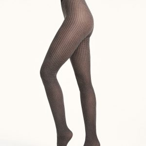 Bianca tights black/hematite