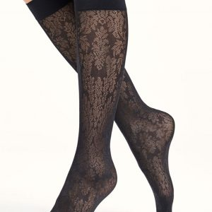 Elisabeth knee highs black