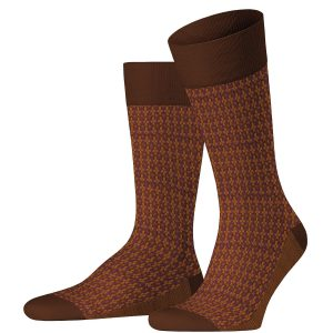Infrastructure socks terracotta