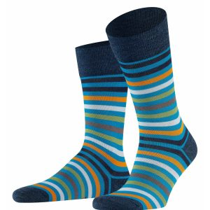 Tinted stripe socks turkish tile