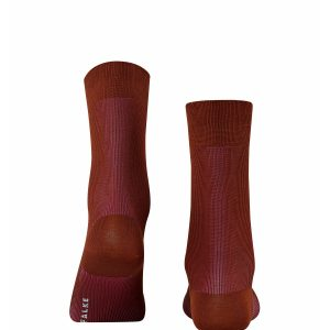 Colour shade socks terracotta/rauðbrúnir