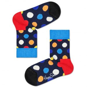 Big dot socks blue/multi