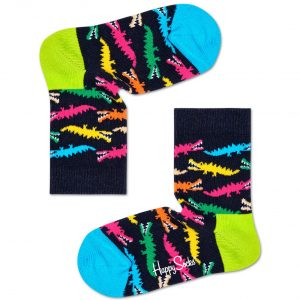 Croco sock blue/multi