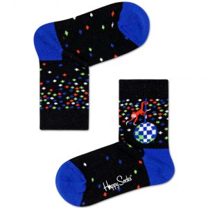 Disco Monkey socks black/blue
