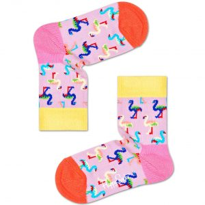 Flamingo socks pink/multi