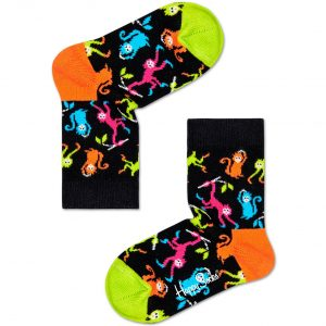 Monkey socks black/multi
