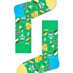 Cake socks green/multi