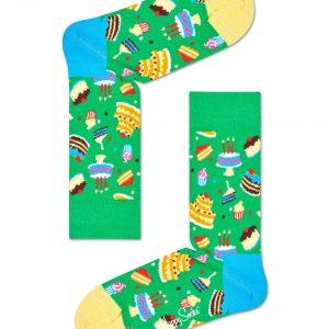 Cake socks green/multi