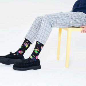 Clean elephant socks black/multi