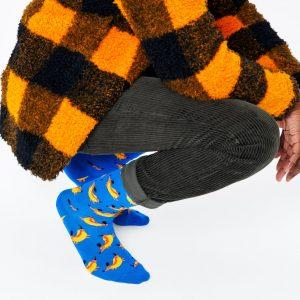 Hot dog dog socks blue/multi