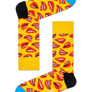 Lip socks yellow/multi