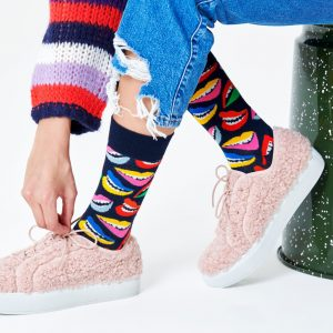 Lip socks blue/multi
