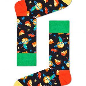 Moon mouse socks black/multi