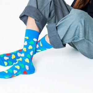 Pear socks blue/multi