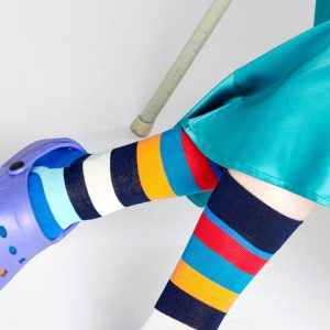Stripe SO blue/multi