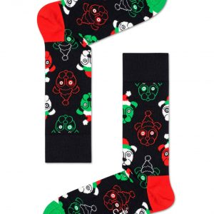 4 pack psychedelic candy cane socks gift set