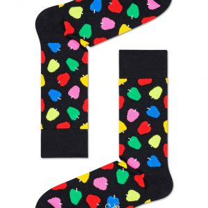 Apple socks black/multi