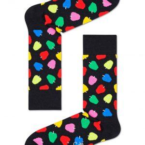 Apple socks black/multi