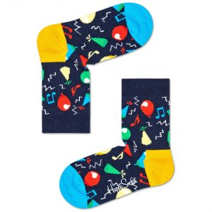 Kids ballon socks blue/multi