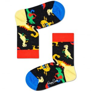 Kids dinosaur socks blue/multi