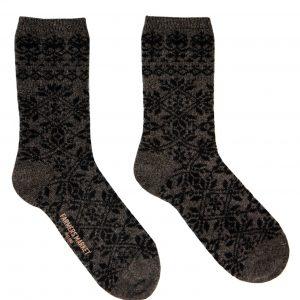 Ból sokkar brúnn/svartur