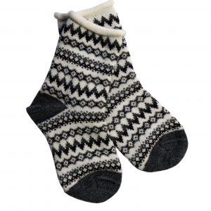 Reykjahlíð baby socks white