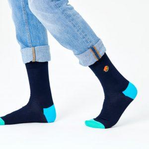 Embroidery burger socks