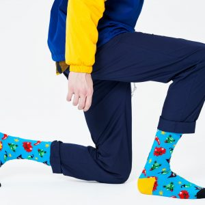 Chilli cat socks blue/multi