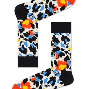 Leopard socks black/multi