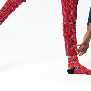 Queen radio Ga Ga socks