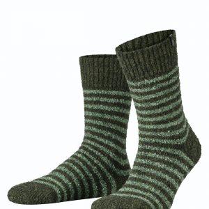 Boucle boot socks khaki