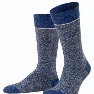 Esprit Norwegian boot socks cornflower