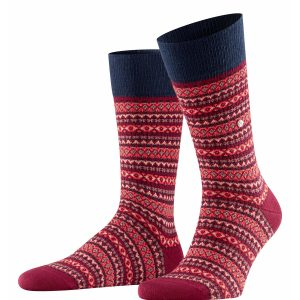 Burlington Country Fair Isle socks