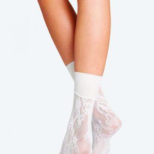 Wolford Kassandra socks white one size